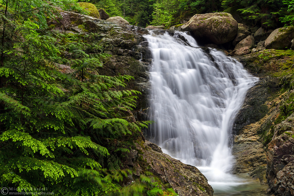 Upper Mcdonald Falls on Murdo Creek in Davis Lake Provincial Park, British Columbia, Canada