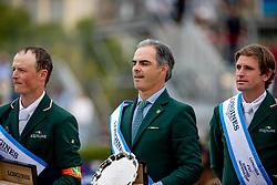 Moloney Peter, Pessoa Rodrigo, Kenny Darragh<br /> Longines FEI Jumping Nations Cup Final<br /> Challenge Cup - Barcelona 2019<br /> © Dirk Caremans<br />  06/10/2019