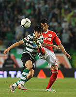 20120409: LISBON, PORTUGAL -Portuguese Liga Zon Sagres 2011/2012 - Sporting CP vs SL Benfica.<br />