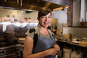 Dominica Rice, owner and chef at Cosecha Cafe in Oakland, California