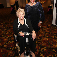 Awardee Johnetta Haley, Mary Stoddard