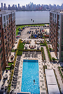 View from Riversedge at Port Imperial, Weekawken, NJ