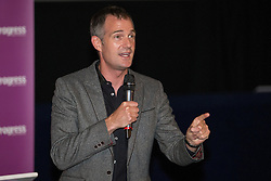 © Licensed to London News Pictures . 27/09/2015 . Brighton , UK . PETER KYLE MP speaks at a Progress Rally fringe event at screen one of the Odeon Cinema on Brighton seafront , during the 2015 Labour Party Conference . Photo credit : Joel Goodman/LNP