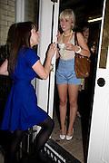 LAURA ELLIS; JESSICA RENTON, Visa Swap launch party. No1 The Piazza. Covent Garden. London. 16 July 2008.  *** Local Caption *** -DO NOT ARCHIVE-© Copyright Photograph by Dafydd Jones. 248 Clapham Rd. London SW9 0PZ. Tel 0207 820 0771. www.dafjones.com.