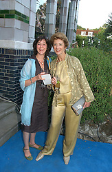 Left to right, AMY ROSENTHAL and her mother actress MAUREEN LIPMAN at a party to celebrate FilmFour becoming the UK's first major free film channel held at Debenham House, Addison Road, London on 20th July 2006.<br />
