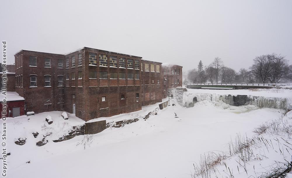 Byron Weston Paper Mill, Dalton, MA