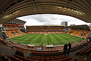 A general view of the stadium before the EFL Sky Bet Championship match between Wolverhampton Wanderers and Brighton and Hove Albion at Molineux, Wolverhampton, England on 14 April 2017.