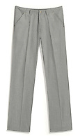 light grey business suit style pleated pants