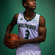 UVU Men's basketball team promo photos on the campus of Utah Valley University in Orem, Utah on Tuesday Oct. 10, 2017. (August Miller, UVU Marketing)
