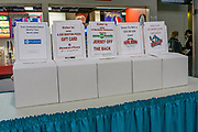 KELOWNA, CANADA - MARCH 10:  Promotions at the Kelowna Rockets game on March 10, 2017 at Prospera Place in Kelowna, British Columbia, Canada.  (Photo By Cindy Rogers/Nyasa Photography,  *** Local Caption ***