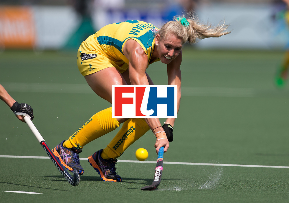 Hockey World Cup 2014<br /> The Hague, Netherlands <br /> Day 9- Women Australia v New Zealand<br /> Casey Eastham<br /> <br /> Photo: Grant Treeby<br /> www.treebyimages.com.au