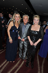 Left to right, JAY ASTON, MIKE NOLAN and CHERYL BAKER of Bucks Fizz at the Soldiering On Awards 2013 held at the Park Plaza Hotel, Westminster Bridge, London SE1 on 23rd March 2013.