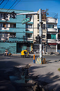 Street scenes of Quirino Avenue, Metro Manila, Philippines.  (photo by Andrew Aitchison / In pictures via Getty Images)