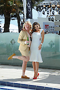 Keith Lemon and Kelly Brook attend a photocall during the 65th Annual Cannes Film Festival at the Martinez Hotel on May 19, 2012 in Cannes, France...Photo Ki Price.