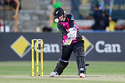 Katey Martin hits out. Women's T20 international Cricket , Australia v New Zealand White Ferns. North Sydney Oval, Sydney, NSW, Australia. 29 September 2018. Copyright Image: David Neilson / www.photosport.nz