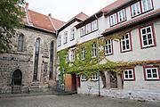Innenhof Predigerkirche, Eisenach, Thüringen, Deutschland   inner yard of Predigerkirche, Eisenach, Thuringia, Germany