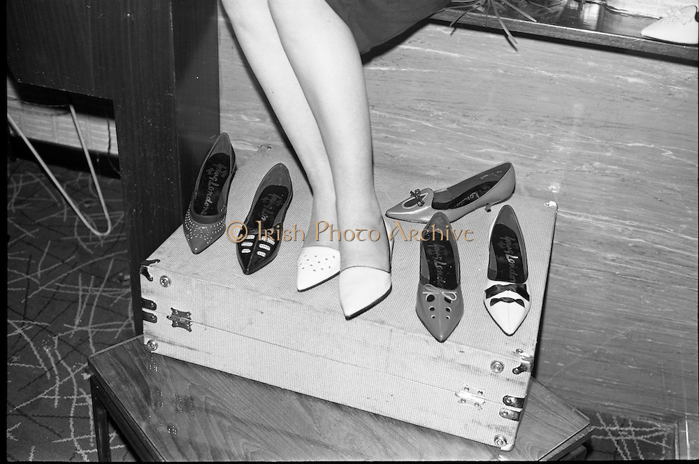 &quot;Young Londoner Footwear&quot; a Hanover Shoe Footwear Reception, at the Moira Hotel, Dublin.<br /> 12.11.1963