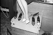 """Young Londoner Footwear"" a Hanover Shoe Footwear Reception, at the Moira Hotel, Dublin.<br /> 12.11.1963"