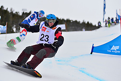 World Cup SBX, FEISTRITZER Klaus, AUT at the 2016 IPC Snowboard Europa Cup Finals and World Cup