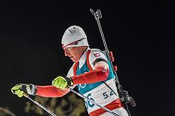 February 12, 2018 - Pyeongchang, Gangwon, South Korea - Magdalena Gwizdon ofPoland competing at Women's 10km Pursuit, Biathlon, at olympics at Alpensia biathlon stadium, Pyeongchang, South Korea. on February 12, 2018. (Credit Image: © Ulrik Pedersen/NurPhoto via ZUMA Press)
