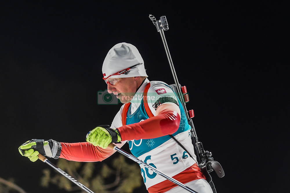 February 12, 2018 - Pyeongchang, Gangwon, South Korea - Magdalena Gwizdon of Poland competing at Women's 10km Pursuit, Biathlon, at olympics at Alpensia biathlon stadium, Pyeongchang, South Korea. on February 12, 2018. (Credit Image: © Ulrik Pedersen/NurPhoto via ZUMA Press)