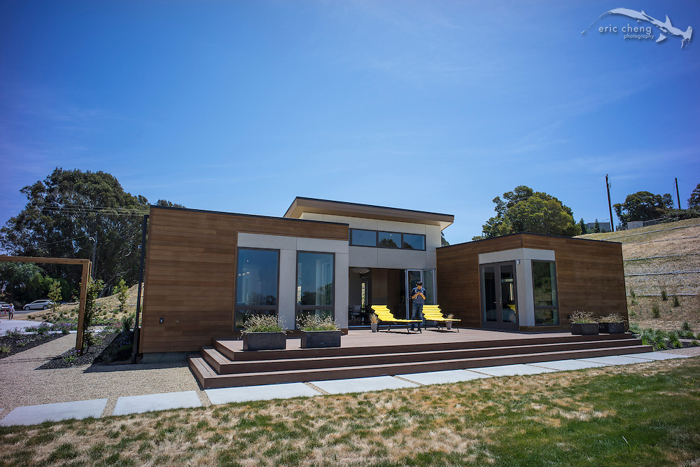 BluHomes tour on Mare Island, Vallejo, June 15, 2014