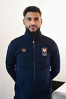 Youssef Ait Bennasser during Photoshooting of Caen for new season 2017/2018 on September 29, 2017 in Bordeaux, France. <br /> Photo : Philippe Le Brech / Icon Sport