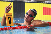 Simona Quadarella (ITA) competes and wins the Gold Medal on Women's 1500 m Freestyle during the Swimming European Championships Glasgow 2018, at Tollcross International Swimming Centre, in Glasgow, Great Britain, Day 6, on August 7, 2018 - Photo Stephane Kempinaire / KMSP / ProSportsImages / DPPI