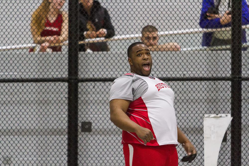 Boston University Multi-team indoor track & field, men weight throw, BU