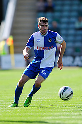Bristol Rovers' Michael Smith  - Photo mandatory by-line: Dougie Allward/JMP - Tel: Mobile: 07966 386802 07/09/2013 - SPORT - FOOTBALL -  Home Park - Plymouth - Plymouth Argyle V Bristol Rovers - Sky Bet League Two