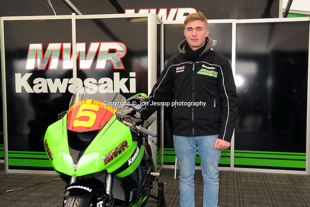 #5 Harry Hartley MWR Kawasaki