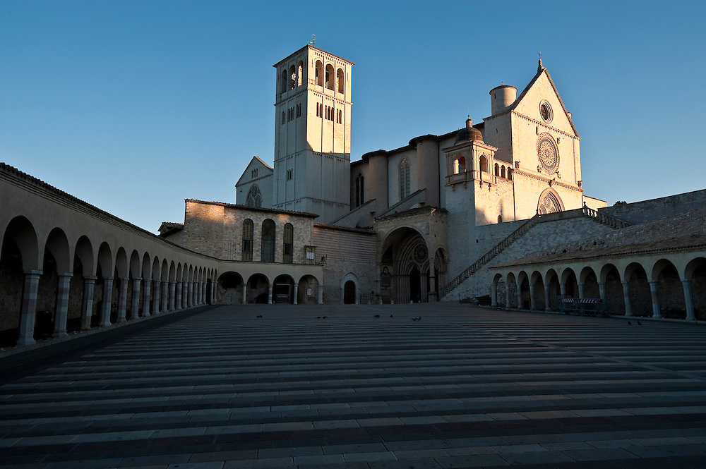 St. Francis of Assisi Basilica in Assisi, Italy. (Sam Lucero photo)