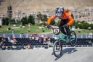 Women Elite #29 (HUISMAN Ruby) NED at the 2018 UCI BMX World Championships in Baku, Azerbaijan.