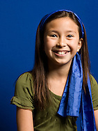 Cover portrait of  fourth grader Mackenzie Cantor taken May 19, 2008, for Phoenix Country Day School 2008 Annual Report in Paradise Valley, Arizona.  .
