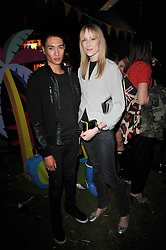 NAT WELLER and JADE PARFITT at a party to celebrate the global launch of the Iconic Brazilian lifestyle brand Havaianas Wellies range held at Selfridges, Oxford Street, London on 14th April 2011.
