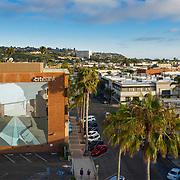 Murals of La Jolla, Kota Ezawa, Once Upon a Time in the West, San Diego, California, with Philipp Scholz Rittermann, Lynda Forsha, Art Advisory Services, San Diego Public Art Program, Aerial Photography, Professional Drone Photographer, John Durant Photographer