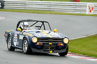#68 Jeff Hooper Triumph TR6 during the MGCC Thoroughbred Sportscar Championship at Oulton Park, Little Budworth, Cheshire, United Kingdom. September 03 2016. World Copyright Peter Taylor/PSP.
