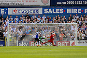 during the Friendly match between York City and Sheffield Wednesday at Bootham Crescent, York, England on 18 July 2015. Photo by Simon Davies.