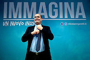 Nicola Zingaretti presents his electoral list