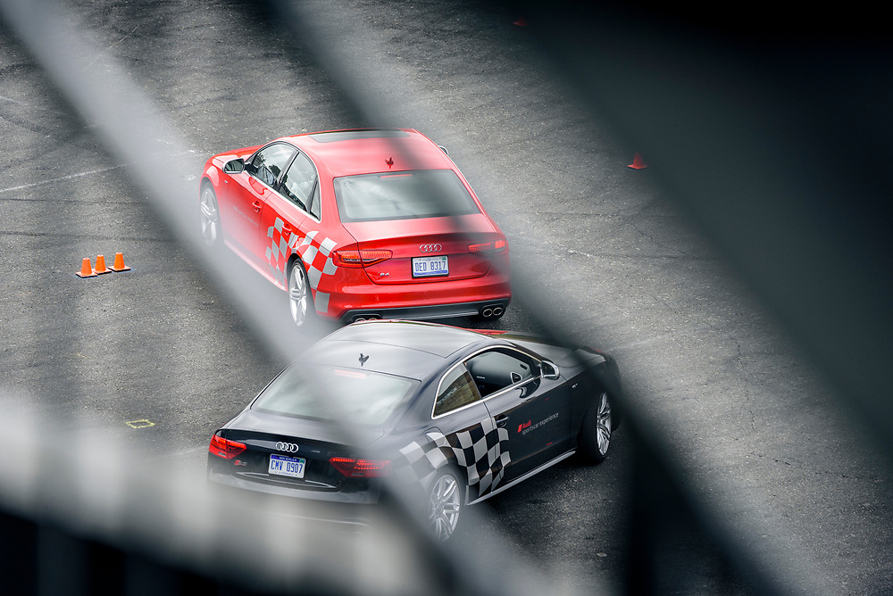 S4 and S5 on the driving course at Sonoma Raceway | Audi sportscar experience
