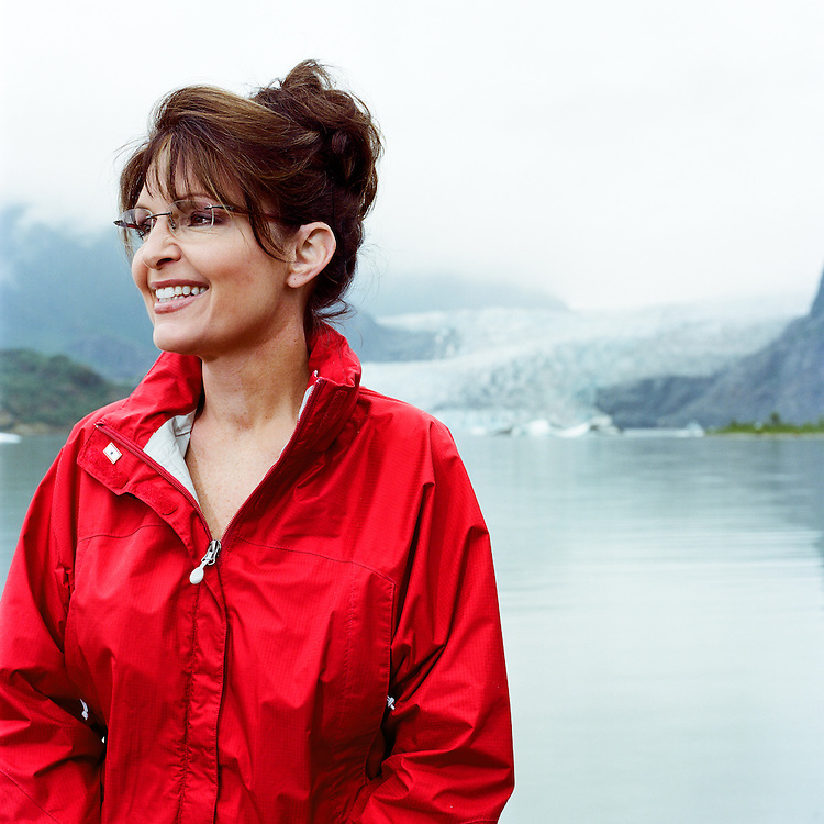JUNEAU, ALASKA - 2008: Sarah Palin for WSJ Magazine.