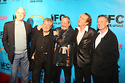 l to r: John Cleese, Terry Jones, Terry Gilliam, Eric Idle, Michael Palin at The Special IFC and BAFTA hosted event with The Monty Python troupe celebrating the 40th Anniversary and premiere of the IFC documentary ' Monty Python: Almost The Truth (The Lawyer's Cut)' held at The Ziegfield Theater on October 15, 2009