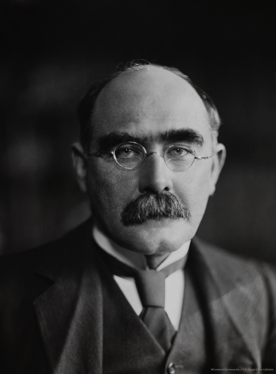 Rudyard Kipling, writer, England, UK, 1912