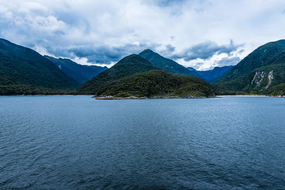 The Dusky Sound Fjord in New Zealand