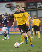 Livingston's Paul Watson - Dundee v Livingston, IRN BRU Scottish Football League, First Division at Dens Park - ..© David Young - .5 Foundry Place - .Monifieth - .Angus - .DD5 4BB - .Tel: 07765 252616 - .email: davidyoungphoto@gmail.com.web: www.davidyoungphoto.co.uk