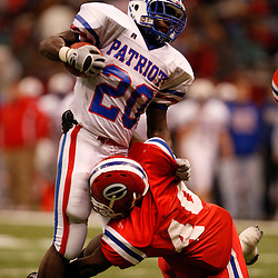 2008 December 12: during the Class 2A LHSAA State Championship game between John Curtis and Evangel Christian at the Louisiana Superdome in New Orleans, LA