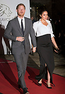 Meghan Markle & Prince Harry At Endeavour Awards
