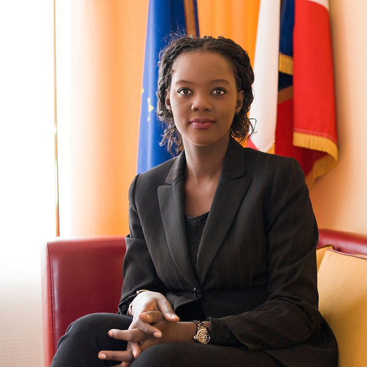 Rama Yade - French politician, member of the French government from 2007 to 2010 and French ambassador at UNESCO from 2010-2011.<br /> <br /> <br /> Rama Yade - femme politique fran&ccedil;aise, membre du gouvernement fran&ccedil;ais entre 2007 &agrave; 2010 et ambassadrice de France aupr&egrave;s de l'UNESCO.