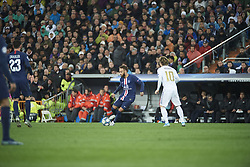 November 26, 2019, Madrid, Madrid, Spain: Neymar (forward; Paris Saint-Germain), Luka Modric (midfielder; Real Madrid) in action during the UEFA Champions League match between Real Madrid and Paris Saint-Germain at Santiago Bernabeu Stadium on November 26, 2019 in Madrid, Spain (Credit Image: © Jack Abuin/ZUMA Wire)