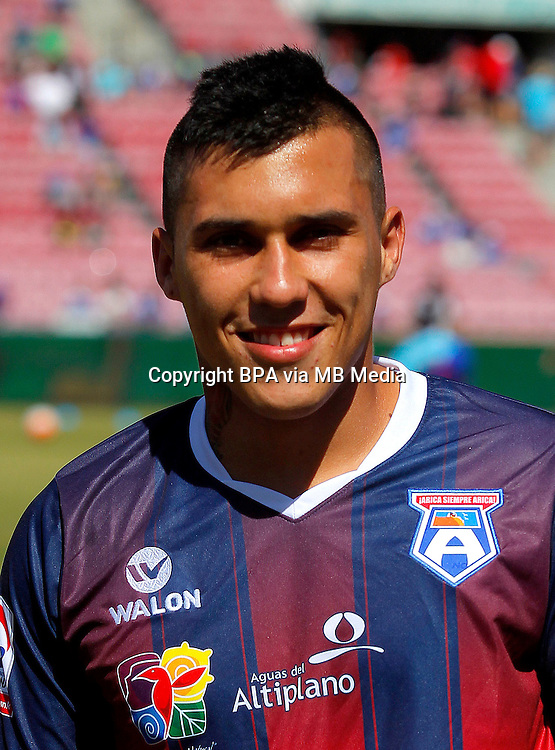 Chile Football League First Division - <br /> Scotiabank Tournament 2016 - <br /> ( Club Deportivo San Marcos de Arica ) - <br /> Kevin Felipe Medel Soto